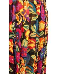 Chaus Petites Skirts - Chaus Petites | Vintage 1980's Floral Skirt